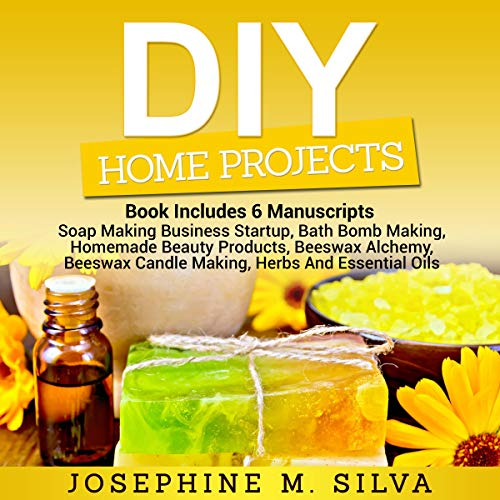 DIY Home Projects: 6 Manuscripts audiobook cover art