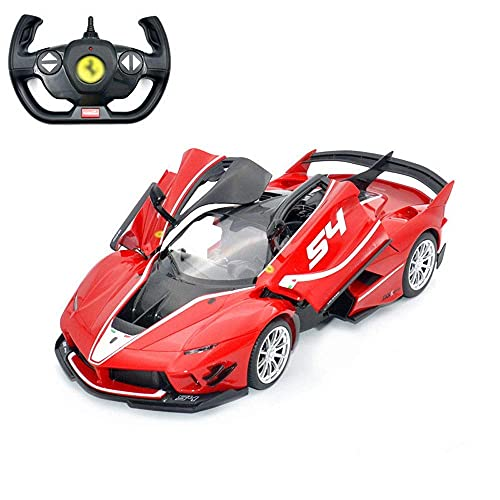 LJW USB Cargando Control Remoto Deportes Coche Juguete 1/14 RC Modelo de automóvil que puede abrir la puerta RC Sporty Car con una velocidad de 8km / h Regalos de vehículos de RC anti-colisión y a pru