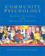 community psychology guiding principles and orienting concepts