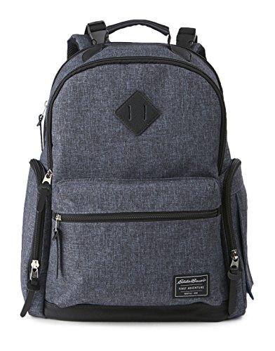 Eddie Bauer Bridgeport Places and Spaces Back Pack Diaper Bag, Navy