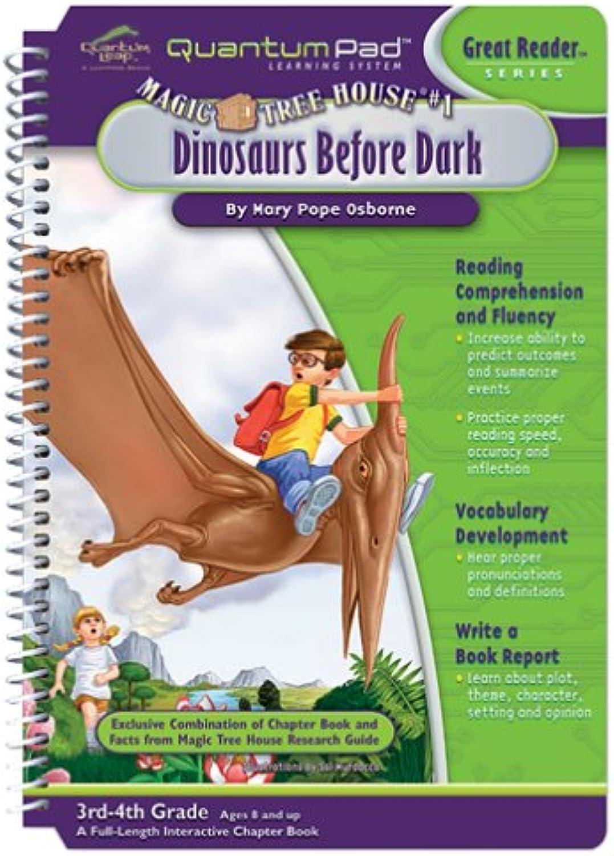 Envío rápido y el mejor servicio Quantum Pad Learning System  Magic Tree House House House - Dinosaurs Before Dark Interactive Book and Cochetridge by LeapFrog Enterprises  precios bajos