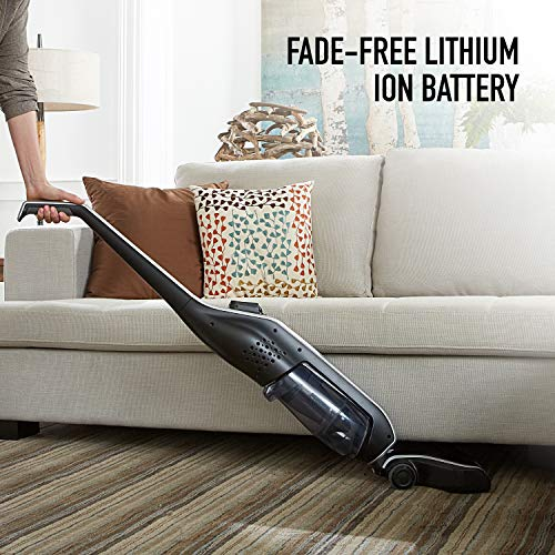 Hoover Linx Signature Stick Cordless Vacuum Cleaner, Rechargeable Lithium Ion Battery, Lightweight, BH50020PC, Black