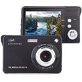 Fotocamera digitale PNI Explorer M1, 18MP, 720P HD, display LCD da 2,7 pollici, zoom digitale 8X, rilevamento del volto