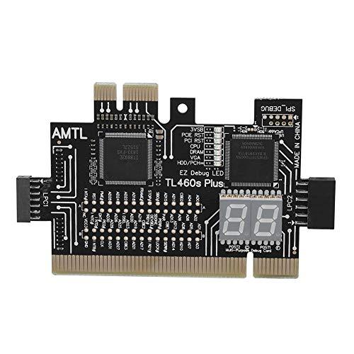 Nikou Desktop-Motherboards - pci diagnosekarte Laptop Desktop-Motherboard PCI/PCIE/Mini-PCIE/LPC-PC-Analysator-Diagnosekarte