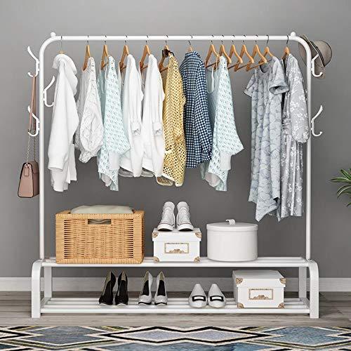 Perchero de metal para interiores, armario de almacenamiento para el hogar, ropa, balcón, perchero