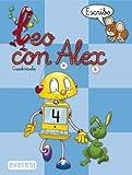 Leo con Álex 4. Escribo. Cuadrícula (Leo con Alex) - 9788424109035