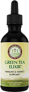 IVL Green Tea Elixir, Energy & Immune Support Dietary Supplement Formula, 2 fl oz