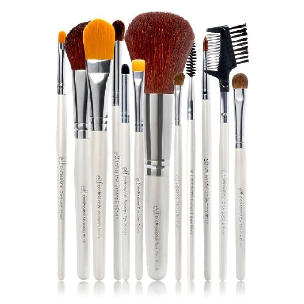 霧深いサイレントゴミE.L.F. Cosmetics, Essential Professional Complete Brush Set, 12 Brushes