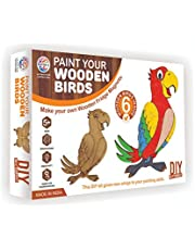 RATNA'S Premium Quality Paint Your Wooden Fridge Magnets for Kids/Adults.