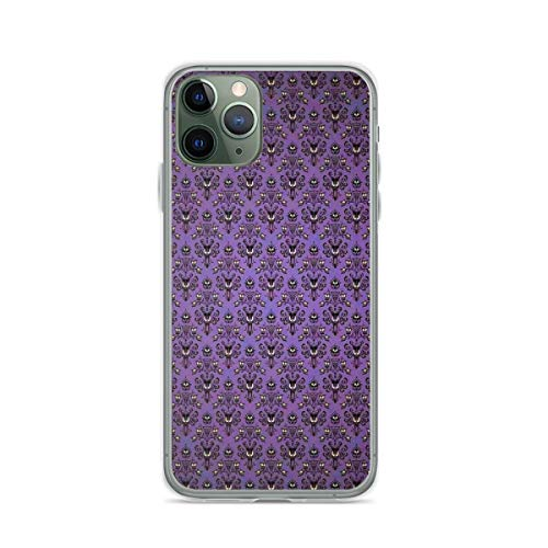 Phone Case Haunted Mansion Wallpaper Compatible with iPhone 6 6s 7 8 X XS XR 11 Pro Max SE 2020 Samsung Galaxy Waterproof Shock Shockproof