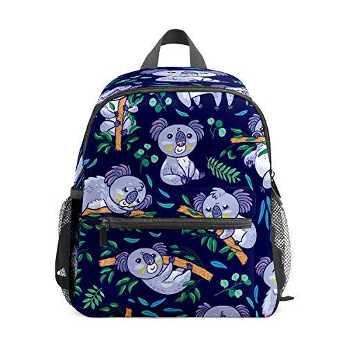 Mochila infantil para niños de 1 a 6 años de edad, mochila para niños y niñas, mochila perfecta para niños a jardín de infantes, lindo dibujo de koala