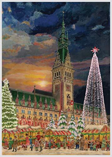 Richard Sellmer Verlag Adventskalender / Weihnachtskalender mit Bildern und Glitzer für Kinder und Erwachsene Hamburg