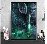 ZJYWYCN Poster Poster John Wick Filmreihe Keanu Reeves