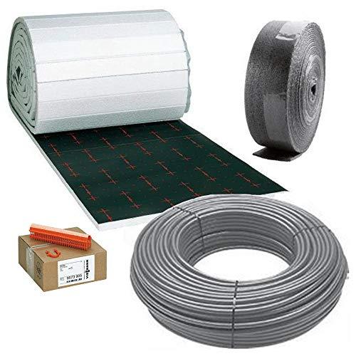 Viessmann Paket Fußbodenheizung Tackerplatte 25 mm - 80 m²