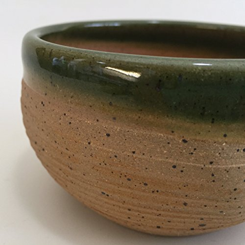 Best Grip and Lather Shave Bowl - Green Handmade Pottery