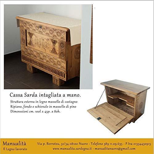 'Matricusia' Cassapanca in Arte Sarda