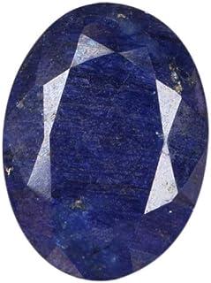Zafiro azul de 32,50 quilates de zafiro profundo y estriado de zafiro ovalado, zafiro natural certificado, piedra de zafir...
