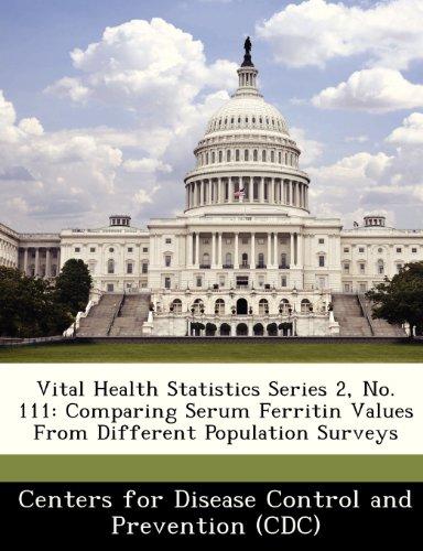 Vital Health Statistics Series 2, No. 111: Comparing Serum Ferritin Values from Different Population Surveys