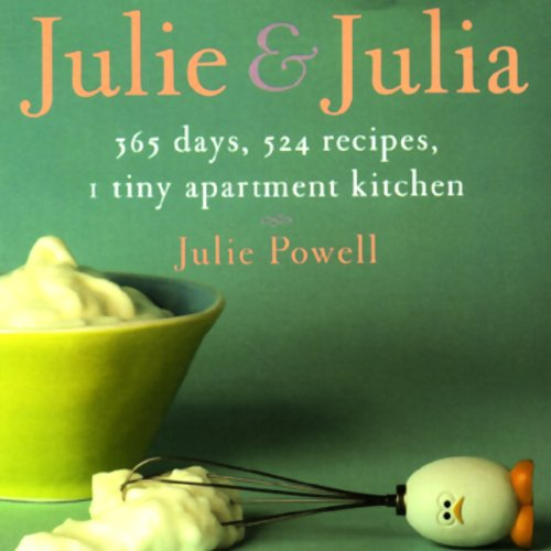 Julie and Julia audiobook cover art