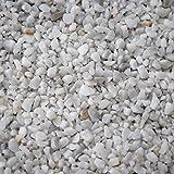 BTT-ST Steinteppich aus Marmorkies Bianco Carrara und Epoxidharz Bindemittel für 4,8m² Marmorstein Marmorkiesel Steinboden Bodenbeschichtung