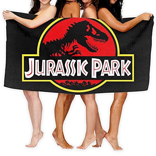Cute Doormat Jurassic Park - Toalla de baño de playa para niños, 100% algodón, súper suave, para niños