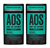 Art of Sport Men's Deodorant (2-Pack) - Victory Scent - Aluminum Free Deodorant for Men with Natural...