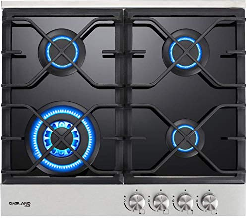 24' Built-in Gas Cooktop, GASLAND Chef GH60BF 4 Burner Gas...