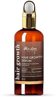 Glamology Handmade Hair Growth Treatment Made With Organic Ingredients Neem, Amla, Shikakai, Brahmi And Coconut Oil   100% All Natural Hair Growth Power Pack