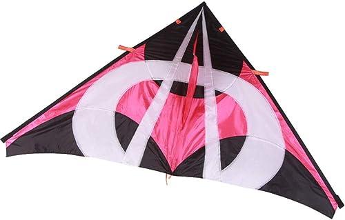 Kind Fliegende Spielzeug, Dreieck Mit Reel Park Light Anf er Kite Erwachsene Größe Tragbare Strand Kite, 200  108 CM (Farbe    6)