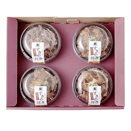 かねすえ 佐賀牛 すきやき丼 4食セット 150g×4 丼 牛肉 惣菜 国産 すき焼き丼 佐賀