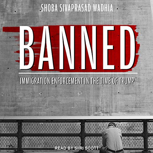 Banned audiobook cover art