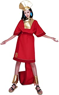 Cosplay.fm Adult's Egypt Kuzco Cosplay Costume Fancy Dress with Hat for Halloween