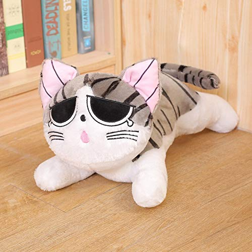 N / A 1pc cat plush toy plush doll soft animal doll cheese cat soft toy pillow children christmas day gift 50cm