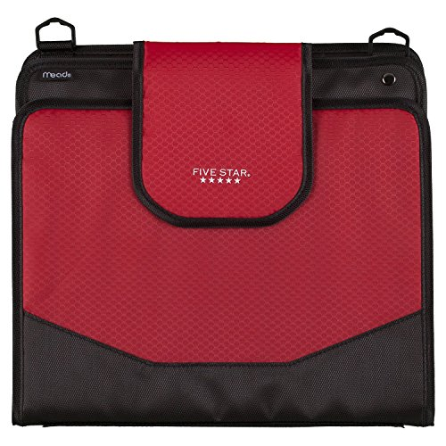 Five Star Sewn Zipper Binder, 2 Inch 3 Ring Binder With 4 Inch Capacity, Assorted Colors, Color Selected For You, 1 Count (28044) Photo #15