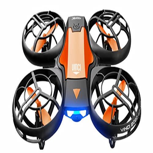 XUANMO V8 Drone Adecuado para niños Escuela Primaria Estudiantes y Principiantes sin fotografía aérea/con fotografía aérea Pequeña aeronave Gesto Inducción Control Remoto Aviones 380G11 * 13 * 4cm