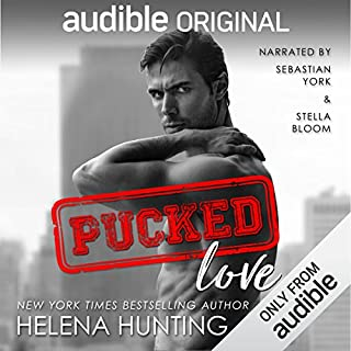Pucked Love                   Written by:                                                                                                                                 Helena Hunting                               Narrated by:                                                                                                                                 Sebastian York,                                                                                        Stella Bloom                      Length: 7 hrs and 49 mins     25 ratings     Overall 4.6