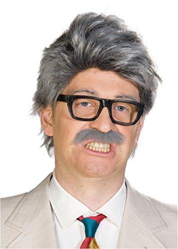 Horst perruque avec moustache sans lunettes