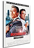 Instabuy Poster Red Heat - Theaterplakat - A3 (42x30 cm)