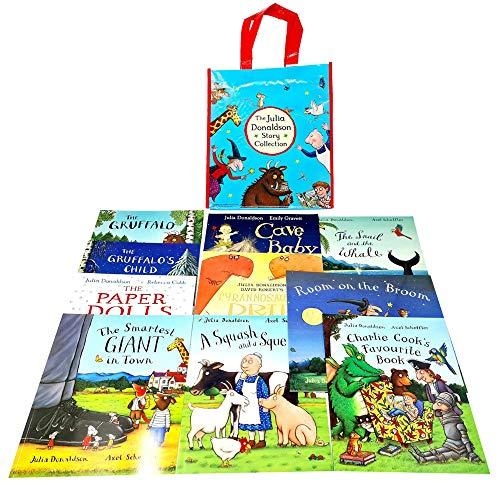 英文儿童绘本 茱莉亚·唐纳森绘本故事集(10册) Julia Donaldson 10-book set