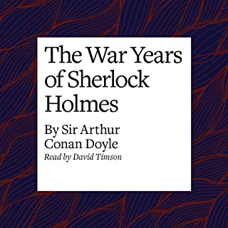 The War Years of Sherlock Holmes cover art