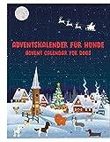 Fresco Adventskalender für Hunde 2020 (Schneelandschaft) - Enthält Hundeleckerli & Hundesnacks UVM. - Für Deinen Hund - Für die Advents-Zeit