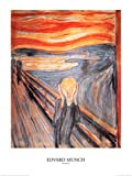 Edvard Munch - Der Schrei Poster Kunstdruck (80 x 60cm)