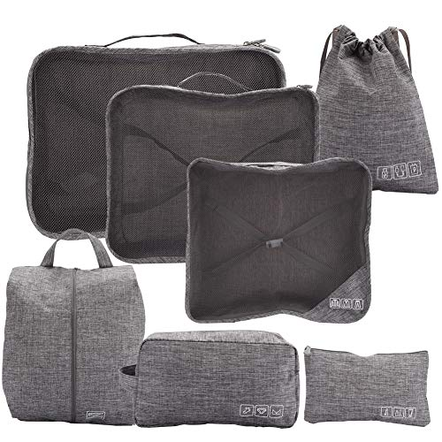 Redxiao Wear-resistant Luggage Packing Bag, Storage Bag, for Home Hairdressing Tattoo Travel(gray)