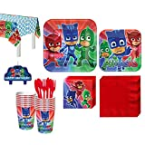 PJ Masks Birthday Party Kit, Includes Birthday Candles, Serves 16, by Party City