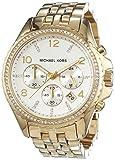 Michael Kors Damen-Armbanduhr Chronograph Quarz Edelstahl beschichtet MK5347