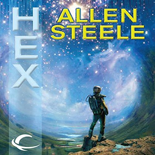 Hex                   By:                                                                                                                                 Allen Steele                               Narrated by:                                                                                                                                 Tracy Sallows,                                                                                        Allen Steele (introduction)                      Length: 9 hrs and 46 mins     232 ratings     Overall 4.0