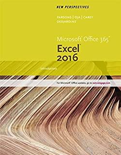 New Perspectives Microsoft Office 365 & Excel 2016: Introductory (1305880420) | Amazon price tracker / tracking, Amazon price history charts, Amazon price watches, Amazon price drop alerts