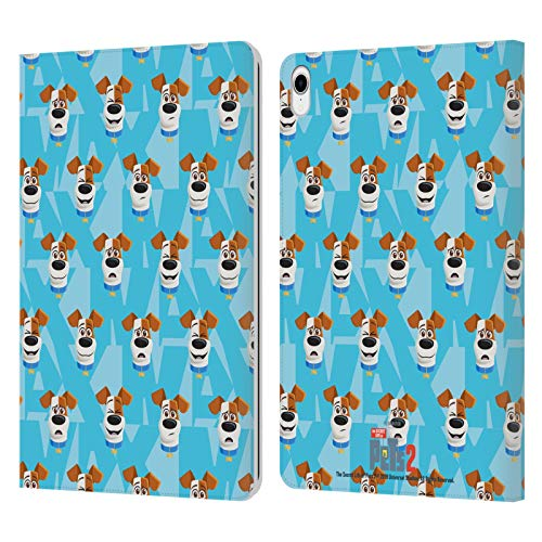 Head Case Designs Officially Licensed The Secret Life of Pets 2 Max Dog Pattern For Pet's Sake Leather Book Wallet Case Cover Compatible With Apple iPad Pro 11 (2018)