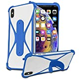 i-Tronixs (Blue) Stretchy Phone Case Cover for Archos 50