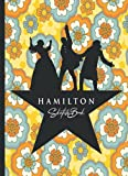 Hamilton Sketchbook: 110 Blank Pages For Sketching and Drawing and Painting, Present, Hamilton Book, Hamilton Gifts, Hamilton Musical Merchandise, ... Gift with Orange Blue Flowers Background
